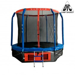Батут DFC JUMP BASKET 12FT-JBSK-B (с сеткой)