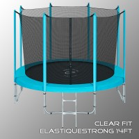 Батут Clear Fit Elastique 14ft