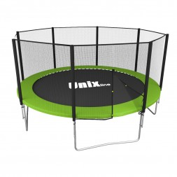 Батут UNIX line Simple 10 ft Green (outside)